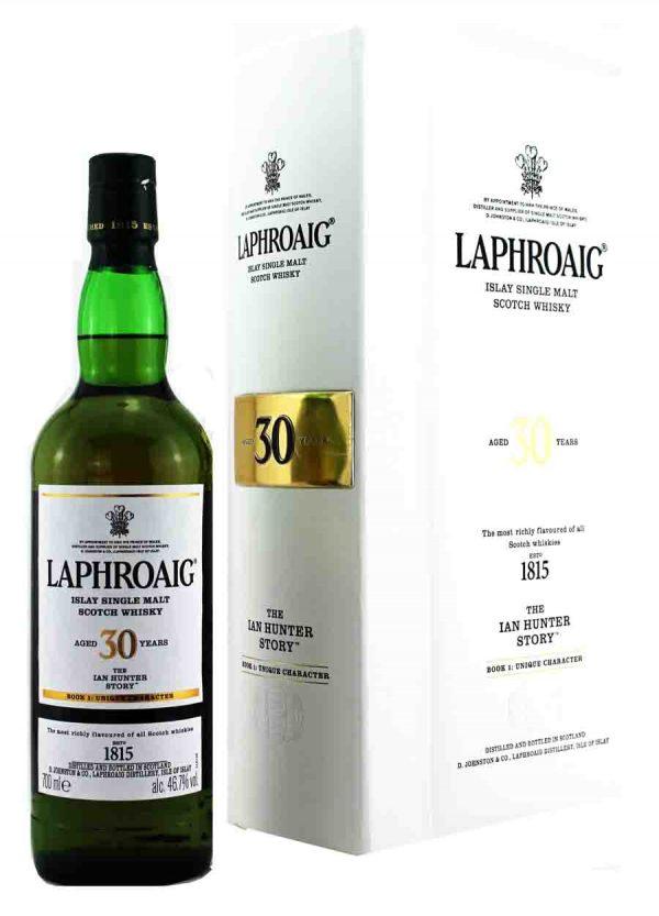 Laphroaig 30 Year Old Ian Hunter Story Book 1 46.7%-F 900x1250-Malt Whisky Story