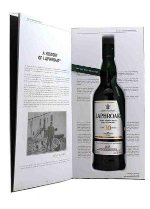 Laphroaig 30 Year Old Ian Hunter Story Book 1 46.7%-O-900x1250-Malt Whisky Agency