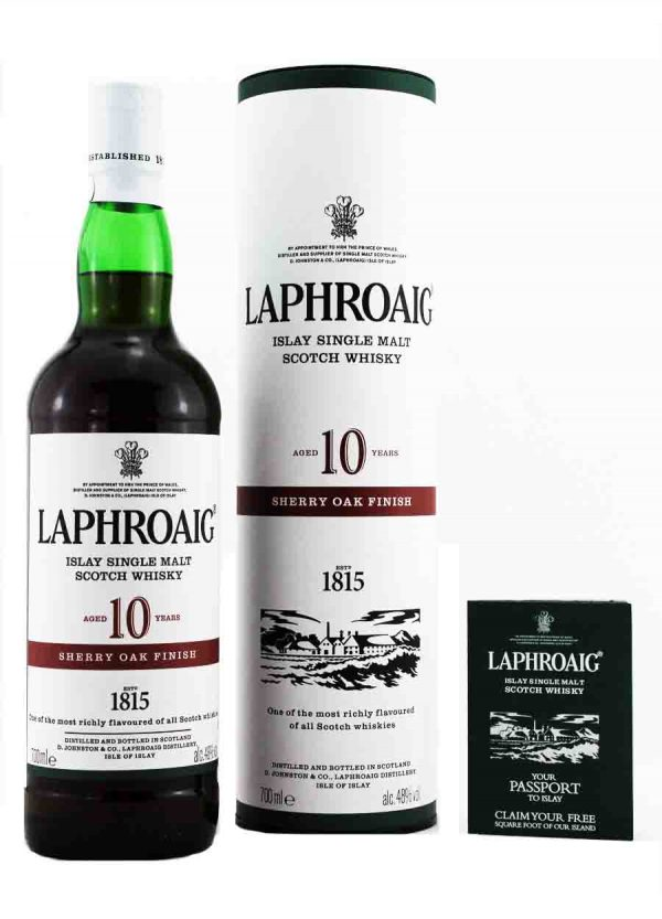 Laphroaig 10 Year Old Sherry Oak Finish 48%-F-900x1250-Malt Whisky Agency