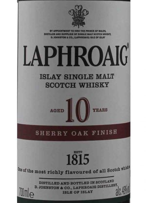 Laphroaig 10 Year Old Sherry Oak Finish 48%-L-900x1250-Malt Whisky Agency