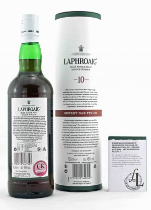 Laphroaig 10 Year Old Sherry Oak Finish 48%-R-900x1250-Malt Whisky Agency