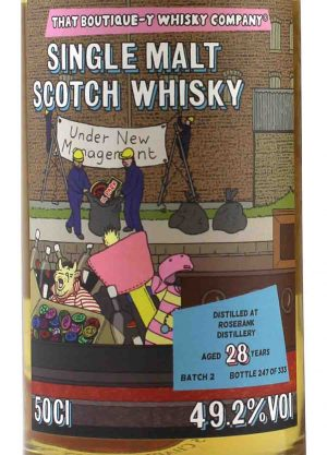 Rosebank-That Boutique-Y Whisky Company-28 Year Old 49.2% 50cl-L-900x1250-Malt Whisky Agency