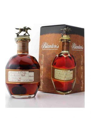 Blanton's Straight From The Barrel 63.3%-F-900x1250-Malt Whisky Agency