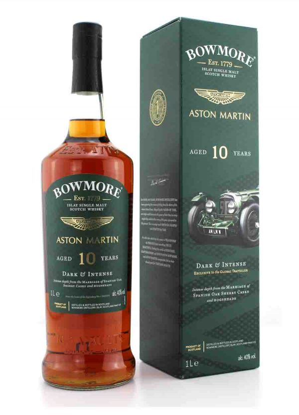 Bowmore X Aston Martin Edition 1–10 Year Old 40%-F-900x1250-Malt Whisky Agency