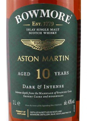 Bowmore X Aston Martin Edition 1–10 Year Old 40%-L-900x1250-Malt Whisky Agency