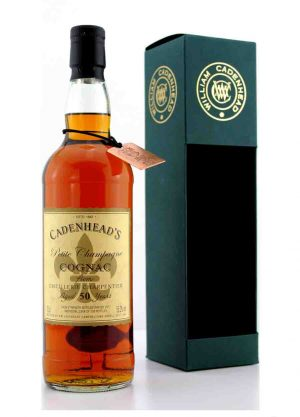 Cadenhead's-Distillerie Charpentier Cognac 50 Year Old -F-900x1250-Malt Whisky Agency