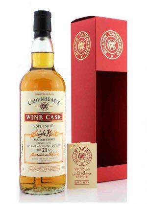 Cadenhead's-Glen Moray-Glenlivet 21 Year Old-F-900x1250-Malt Whisky Agency